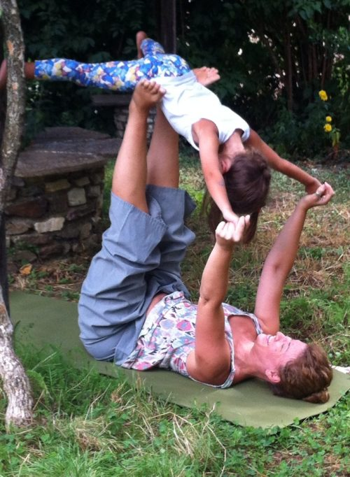 yoga and meditation with your Child